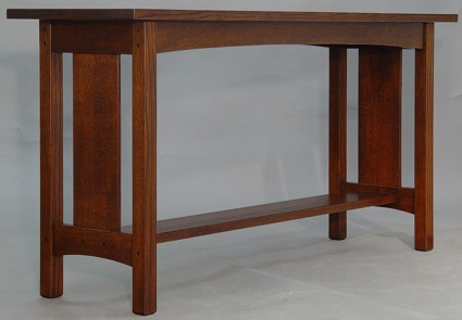 Mission Panel Sofa Table