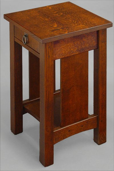 Panel Amp Spindle End Table