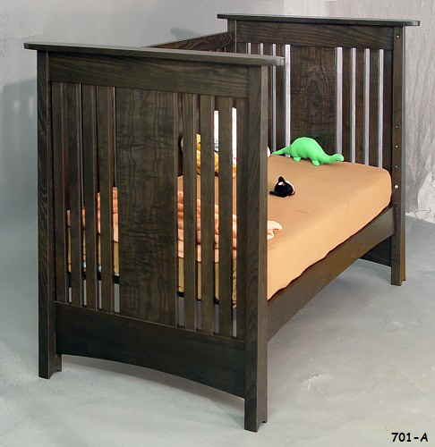 Macintosh Crib Ash Black