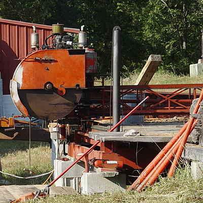 Mobile Dimension Sawmill