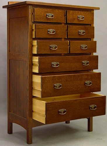 Mission 9 Drawer Chest 813