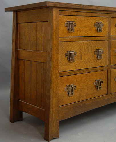 Mackintosh 9 Drawer Bureau 825