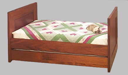 Mahogany Trundle bed