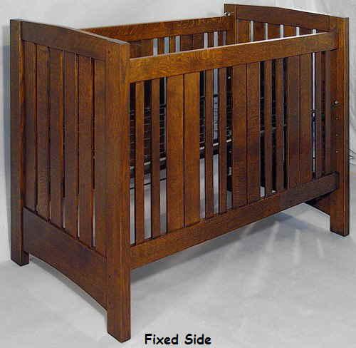 mission style crib