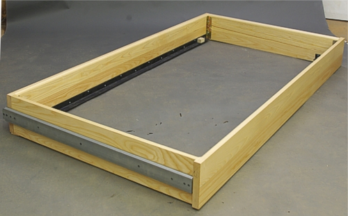 the slat assembly is used to support the mattress or futon trundle bed unit  rh   dryadstudios