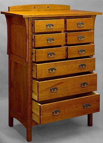 arts and crafts dresser arts amp crafts 9 drawer chest 812 3371